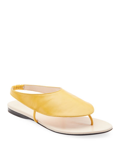 Ravello Leather Stretch Sandals