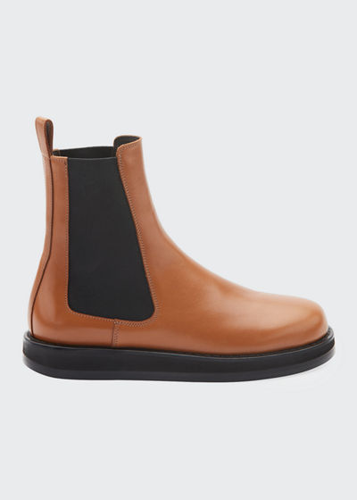 Gaia Leather Gored Boots