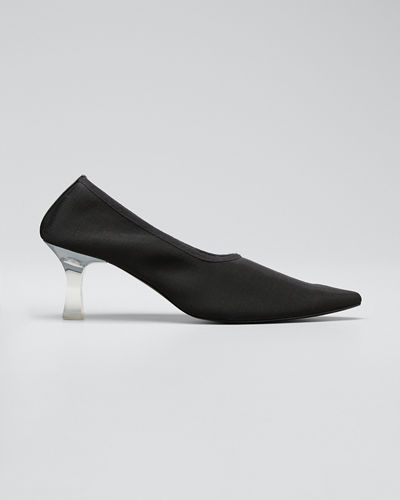 Pointed Sock Pumps