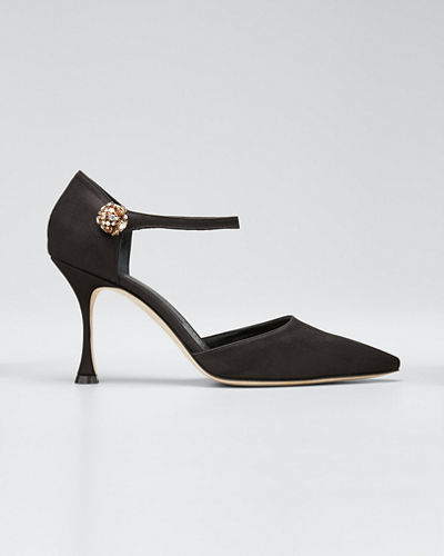 Odigy 90mm Ankle-Strap Pumps