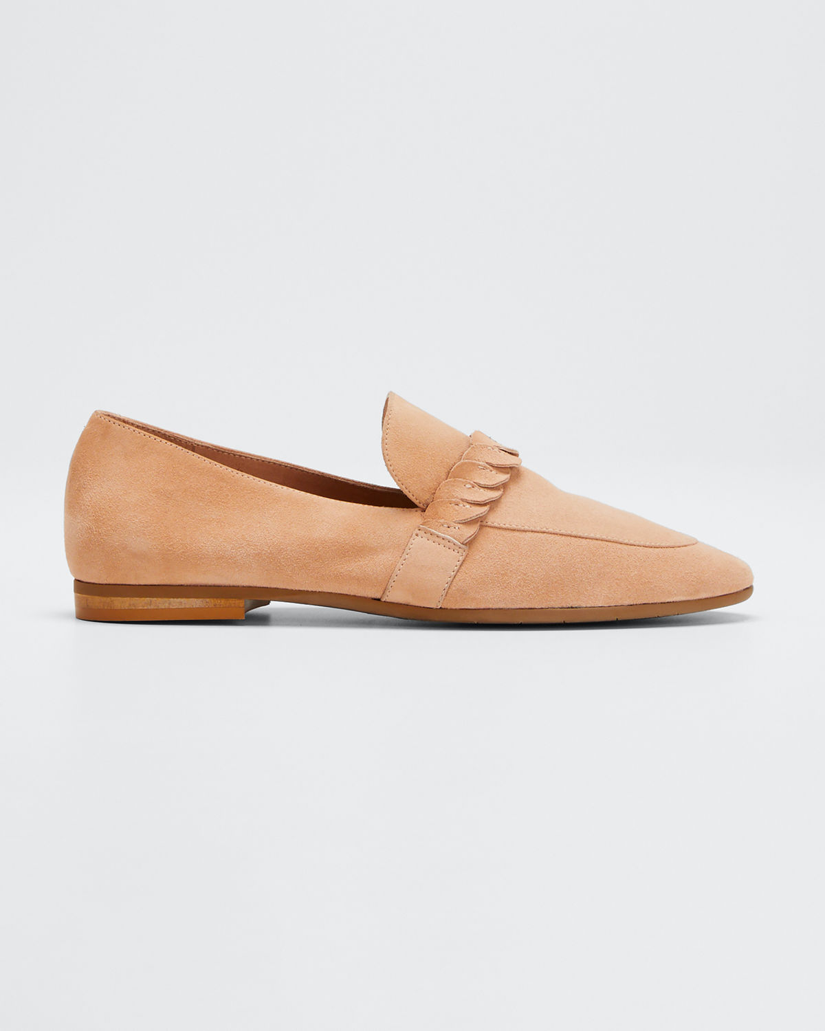 Aquatalia Loafers CARLEE SUEDE SLIP-ON LOAFERS
