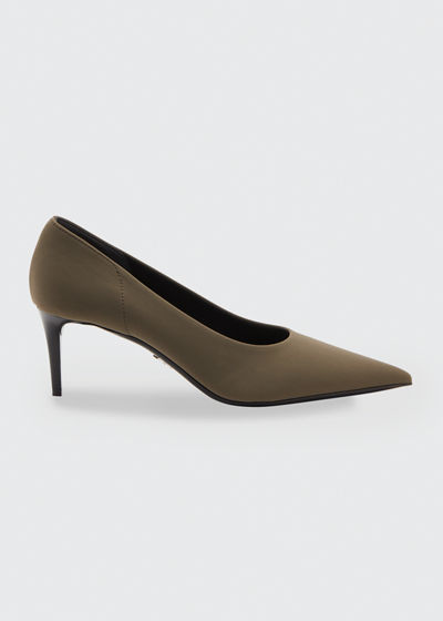 Fabric Stretch 65mm Pumps