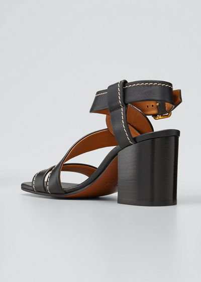 Candice Twisted Ankle Sandals