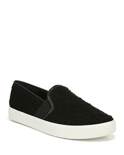 Blair 5 Barry Shearling Fabric Slip-On Sneakers