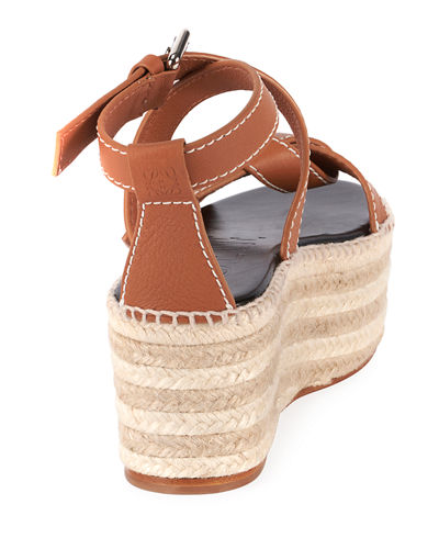 Gate Wedge High Espadrilles