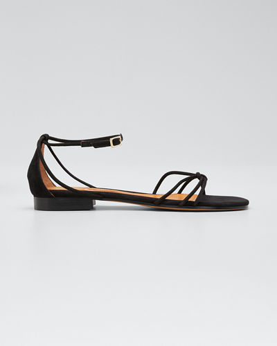 Annelie Ankle-Strap Sandals