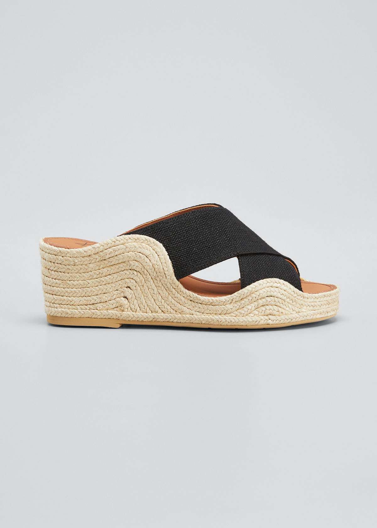 Aquatalia Sandals MARINA CRISSCROSS ESPADRILLE SANDALS