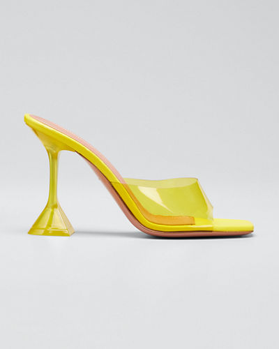 Lupita Glass Slide Sandals