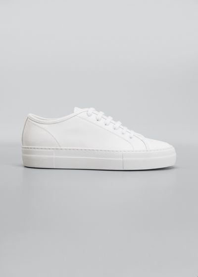 Tournament Leather Low-Top Sneakers