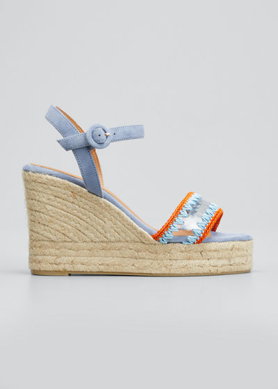 Baru 100mm Espadrille Wedges