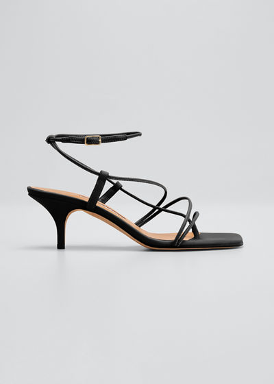50mm Tobias Strappy Thong Sandals