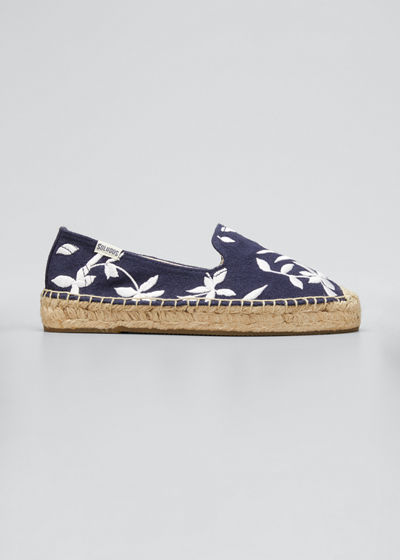 Shiloh Floral Embroidered Espadrilles