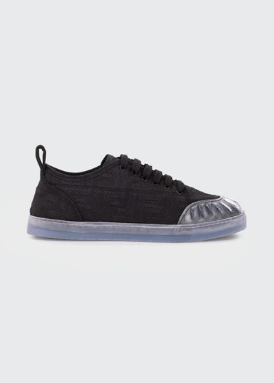 Promenade FF Logo Low-Top Sneakers