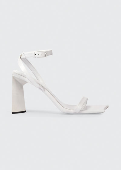 Moon Leather Ankle-Strap Sandals