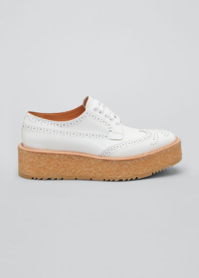 Patent Platform Oxford Loafers