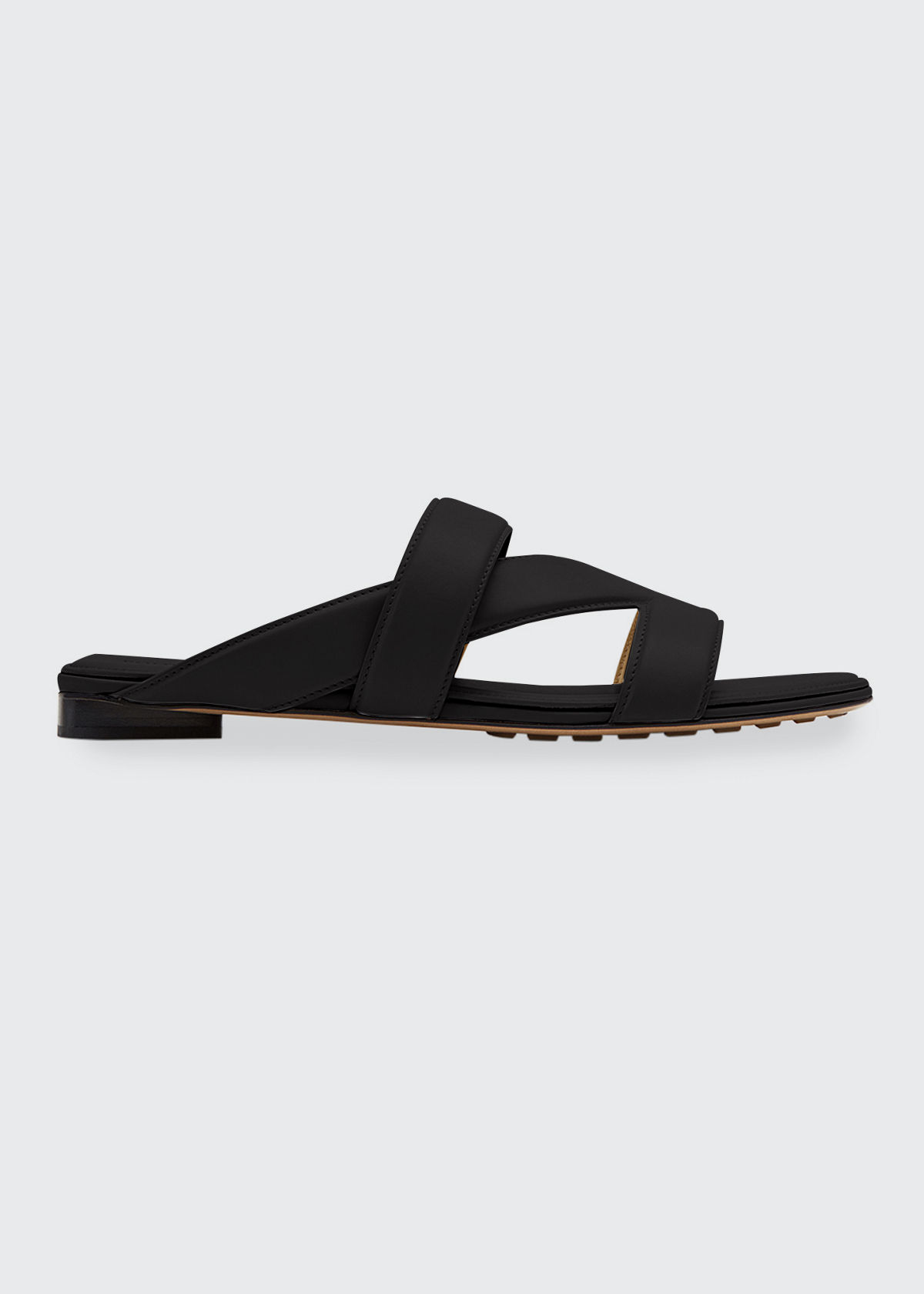 Bottega Veneta THE BAND FLAT SANDALS