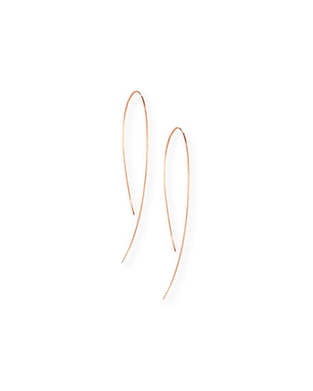 Lana YELLOW GOLD HOOK-ON HOOP EARRINGS