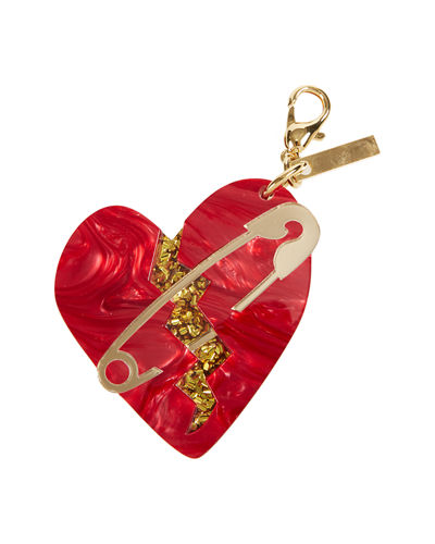 Broken Heart Bag Charm