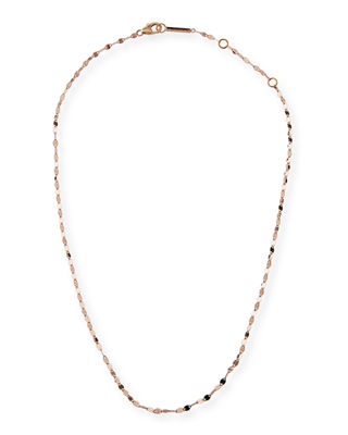 14K Alias Blake Single-Strand Choker Necklace, Rose Gold