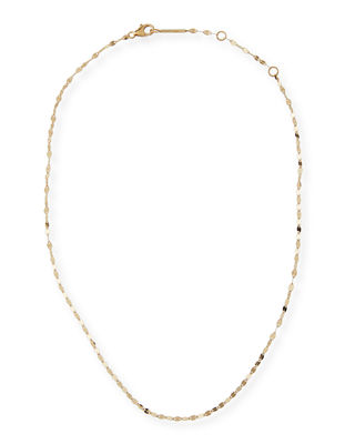 14K Alias Blake Single-Strand Choker Necklace, Gold