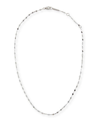14K Alias Blake Single-Strand Choker Necklace, White/Gold