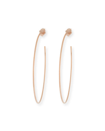 14k Wire Hoop Earrings