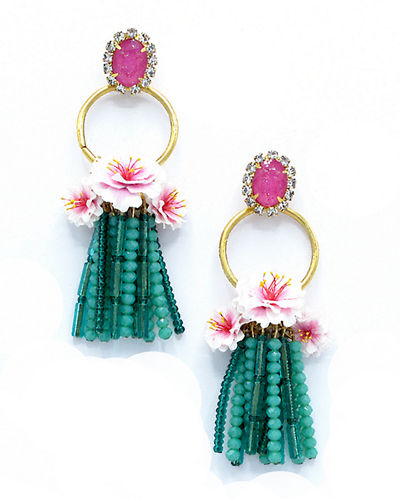 Bastian Tassel Drop Earrings