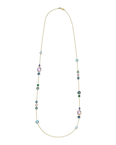 Rock Candy Long Station Necklace  39
