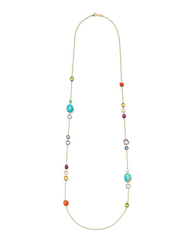 Rock Candy Long Station Necklace, 39
