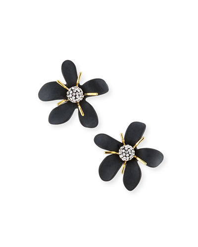 Lele Sadoughi Trumpet Lily Stud Earrings