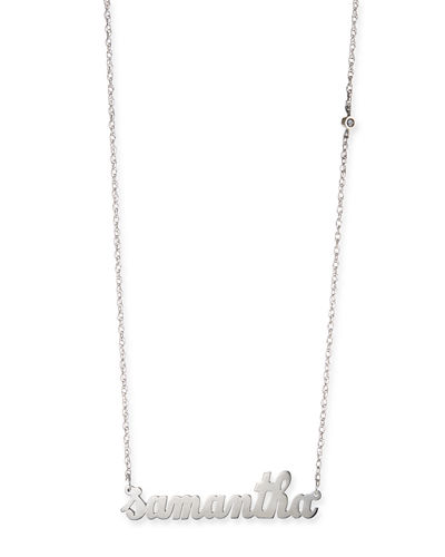 Abigail Personalized Diamond Necklace