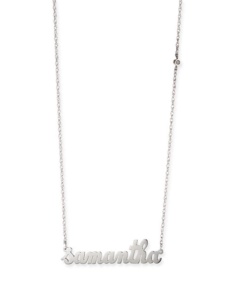 7b092daa78342 Abigail Personalized Diamond Necklace in Gold