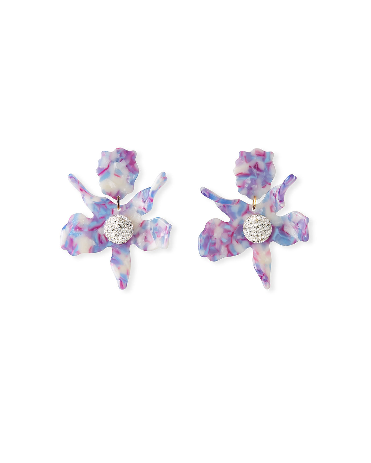 Lele Sadoughi Accessories LILY STUD EARRINGS W/ CRYSTALS