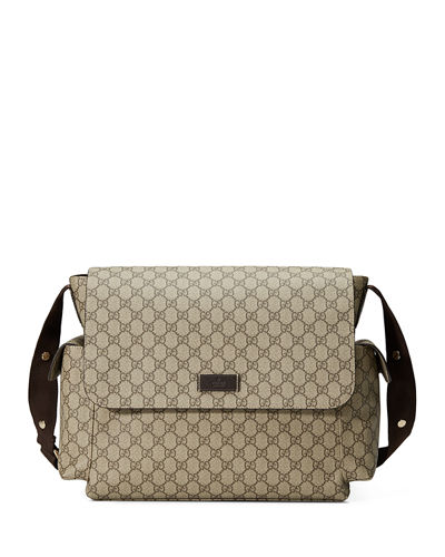 c9b1495d95a3 Diaper Bags Collection : Leather-Trim Diaper Bags at Bergdorf Goodman