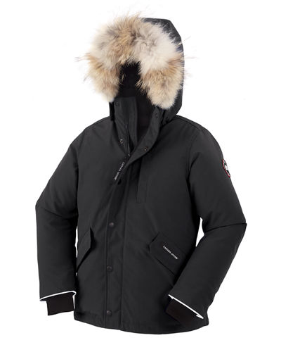 Boys' Logan Parka with Fur Trim  Size XS-XL