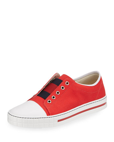 Canvas Slip-On Sneaker, Youth
