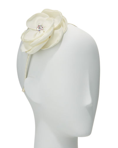 Girls' Silk Flower Headband