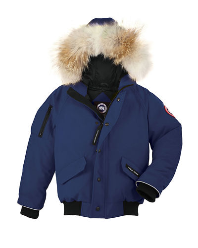 Canada Goose Rundle Hooded Down Bomber Jacket, Size
