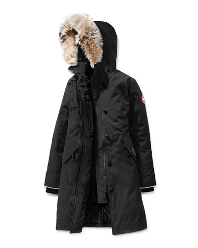 Youth Brittania Parka with Removable Fur Trim, XS-XL