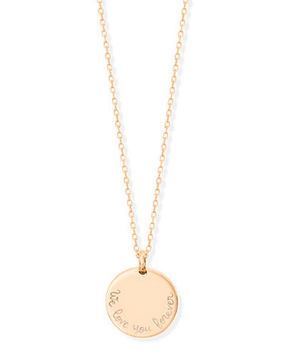 Personalized Edge Charm Necklace
