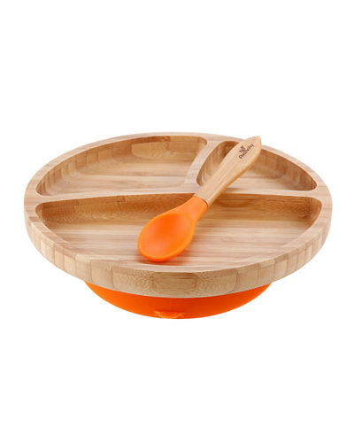 Baby's Bamboo Bowl, Plate & Spoon Collection